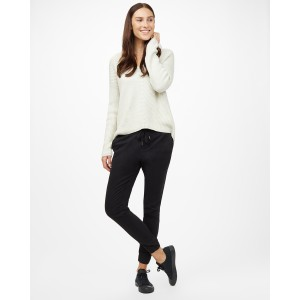 tentree Highline Cotton V-Neck Sweater Womens