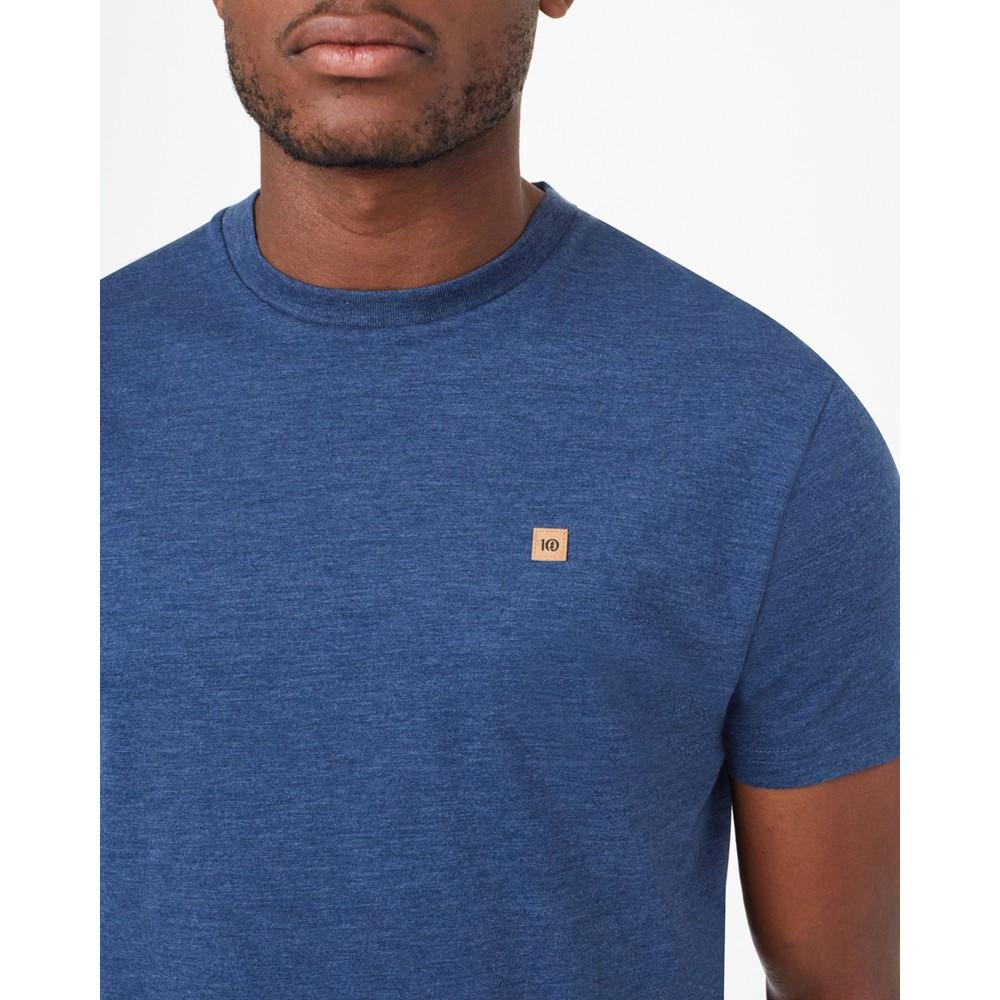 tentree TreeBlend Classic T-Shirt Mens Dark Ocean Blue Heather