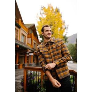 tentree Heavy Weight Flannel Shirt Mens