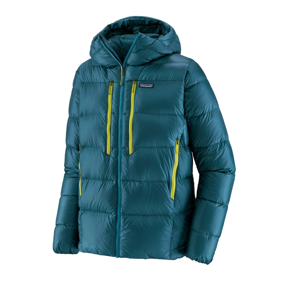 Patagonia Fitz Roy Down Hoody Mens Crater Blue