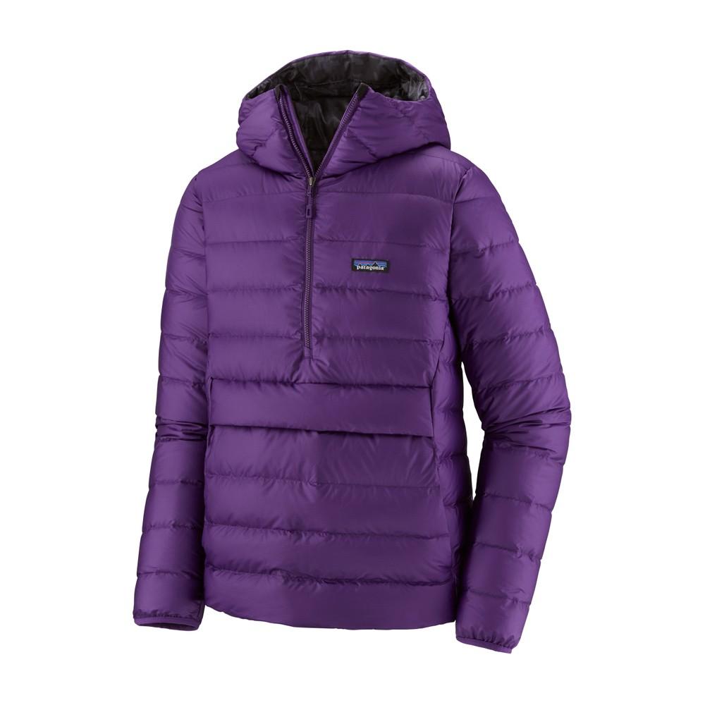 Patagonia Down Sweater Hoody P/O Mens Purple