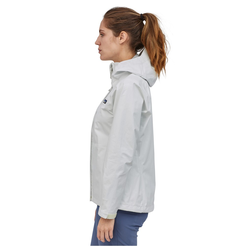 Patagonia Torrentshell 3L Jacket Womens Birch White