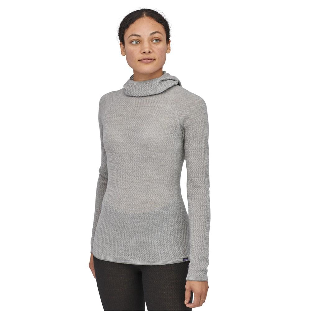 Patagonia Cap Air Hoody Womens Feather Grey/Birch White X-Dye