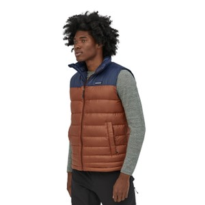 Patagonia Hi-Loft Down Vest Mens in Barn Red