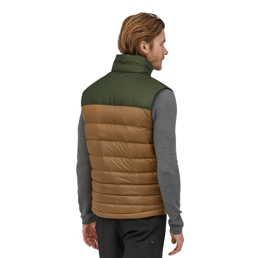 Patagonia Hi-Loft Down Vest Mens Owl Brown