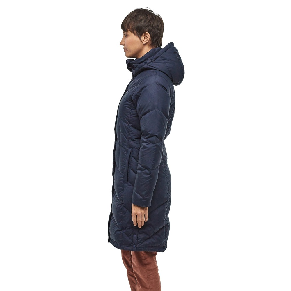 Patagonia Down With It Parka Womens New Navy