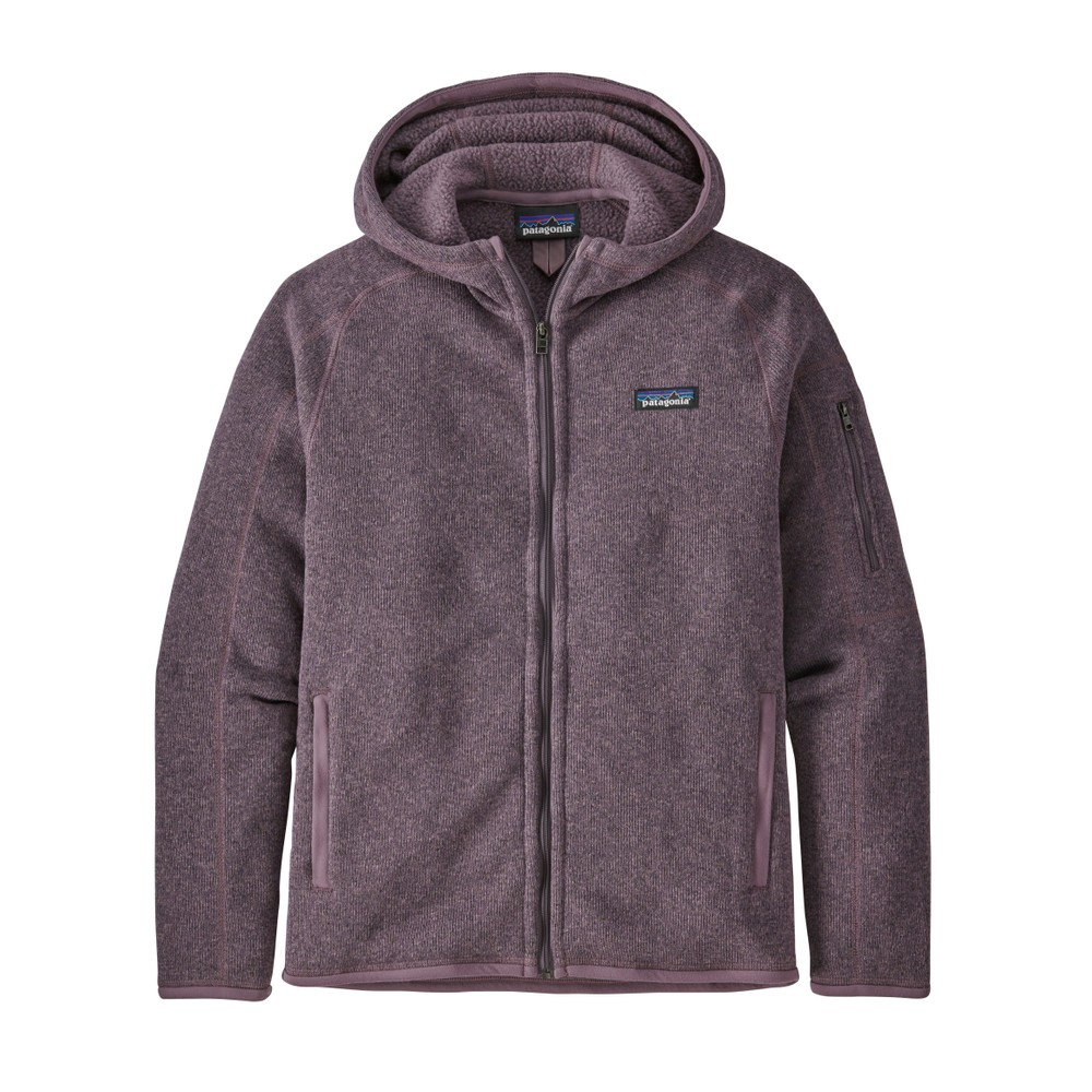 Patagonia Better Sweater Hoody Womens Hyssop Purple