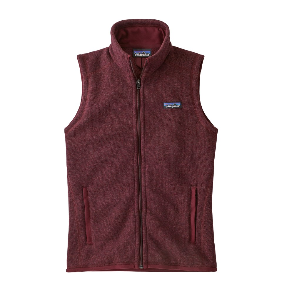 Patagonia Better Sweater Vest Womens Chicory Red