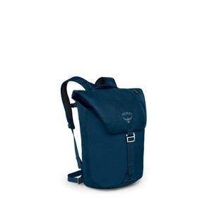 Osprey Transporter Flap in Deep Water Blue