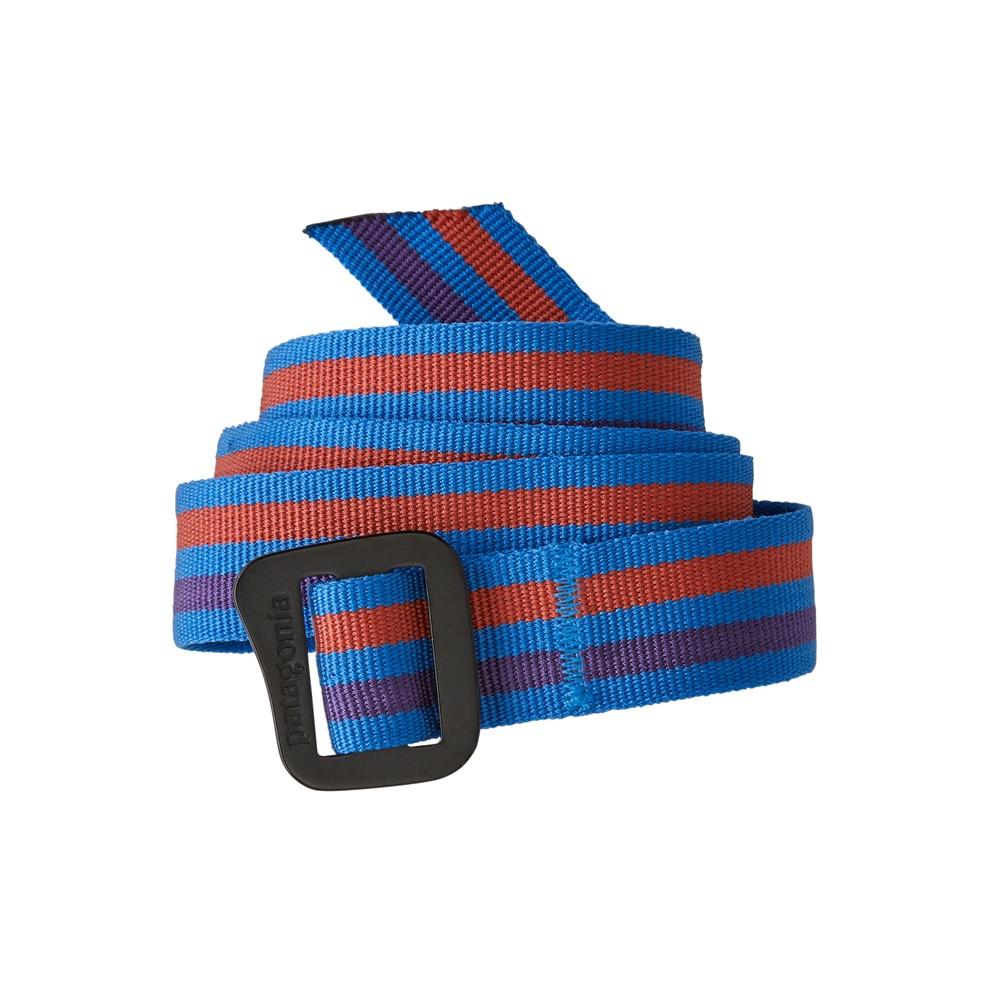 Patagonia Friction Belt Fitz Roy Belt Stripe: Andes Blue