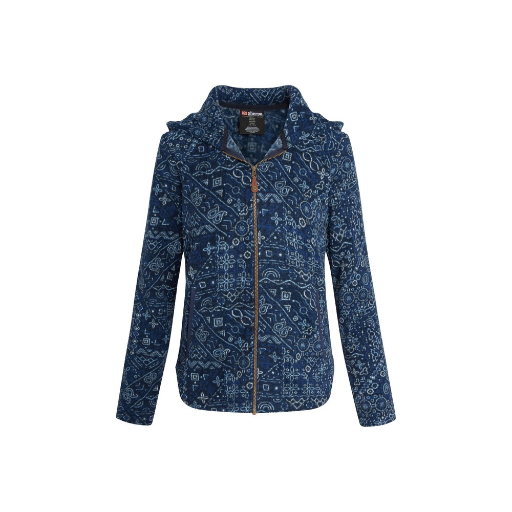 Sherpa Namla Hooded Jacket II Womens Neelo Blue