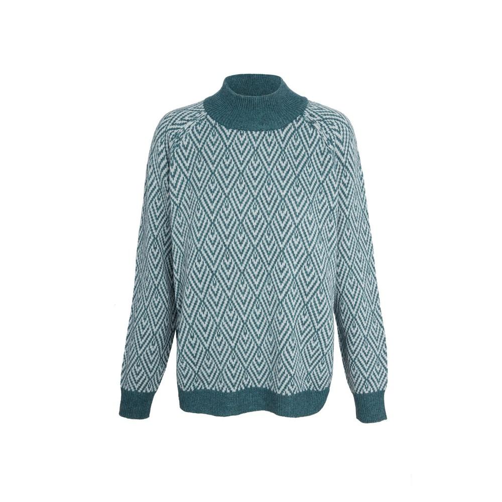 Sherpa Hasri Pullover Sweater Womens Rathna green
