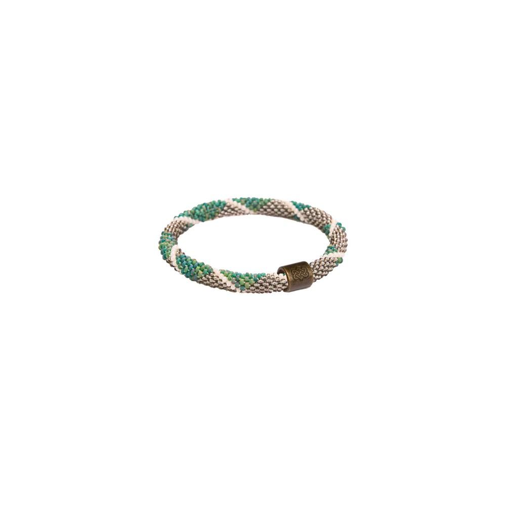 Sherpa Mayalu Diamond Roll On Bracelet Rathna green