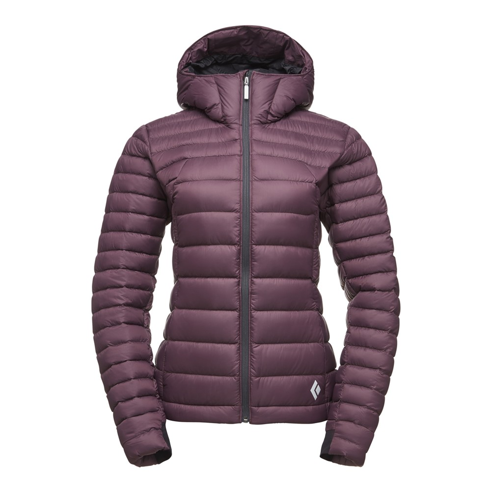 Black Diamond Cold Forge Hoody Womens BORDEAUX