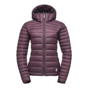 Black Diamond Cold Forge Hoody Womens in Bordeaux