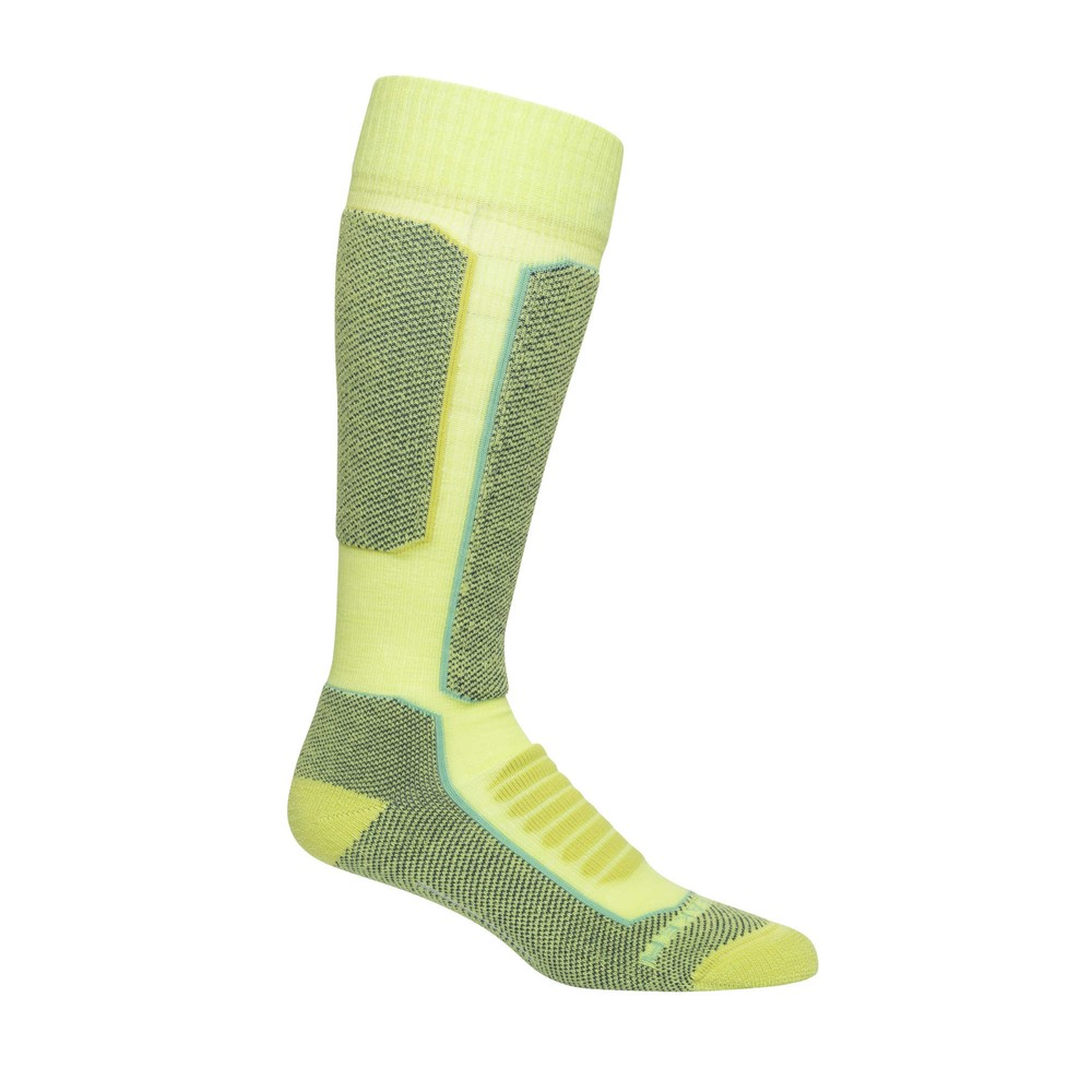 Icebreaker Ski  Medium OTC Sock Womens Aloe/Nightfall