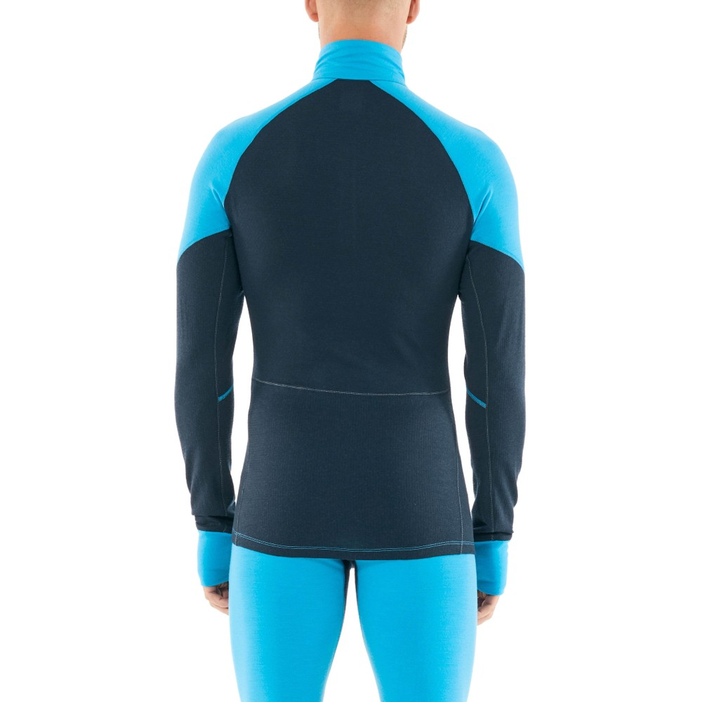 Icebreaker Zone 260 LS Half Zip Mens Polar