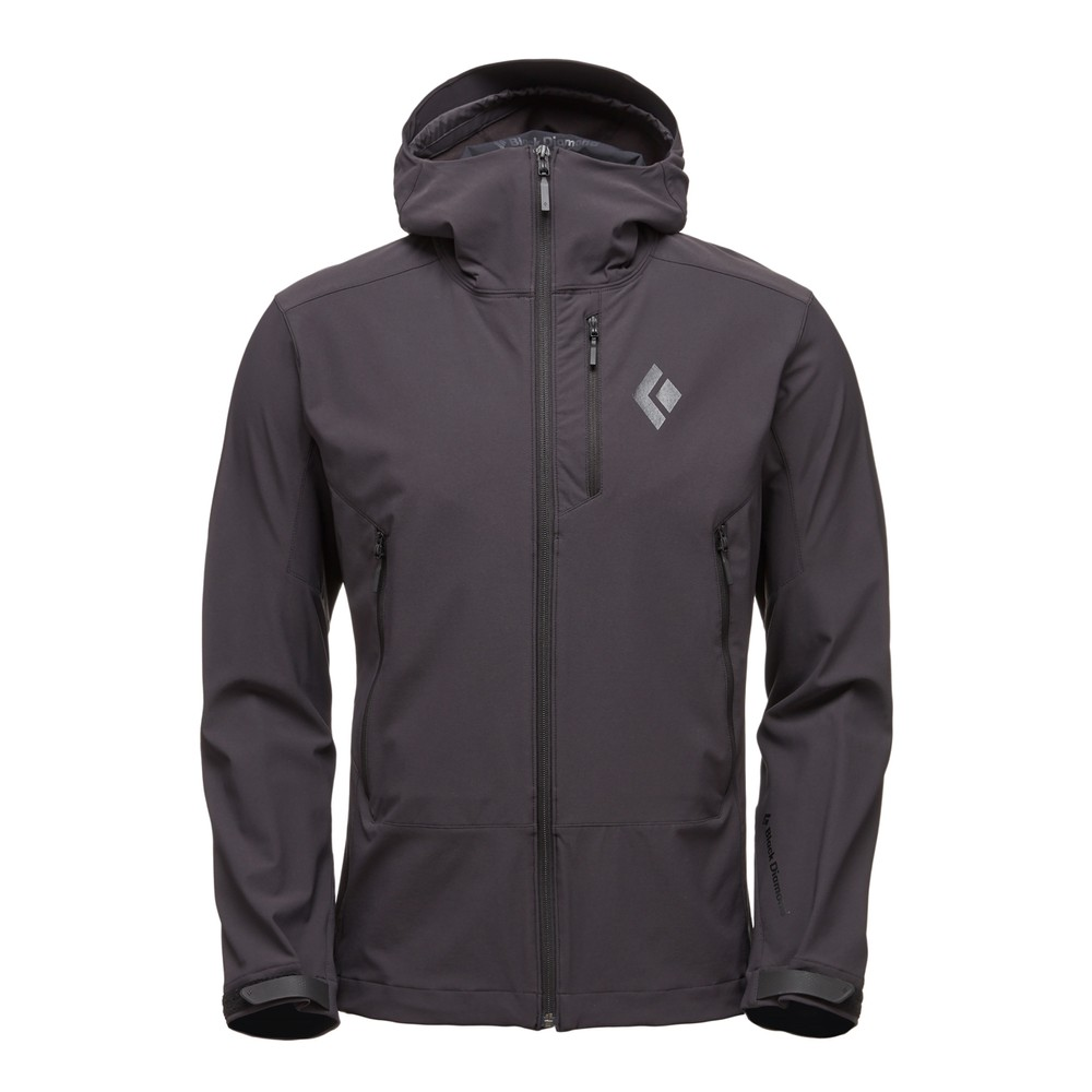 Black Diamond Dawn Patrol Shell Mens SMOKE