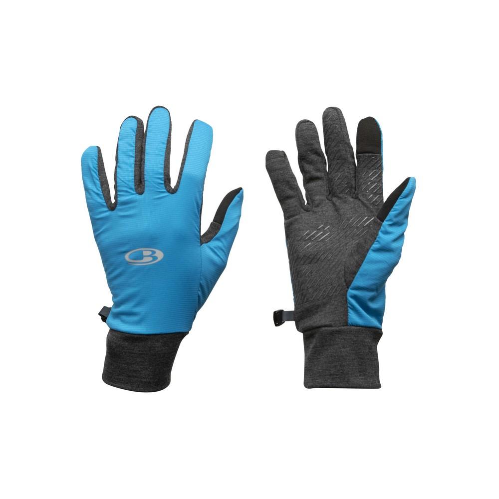 Icebreaker Tech Trainer Hybrid Gloves Jet Heather/Polar