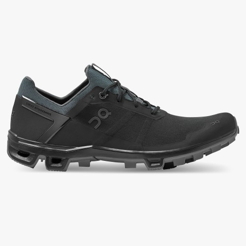 On Running Cloudventure Peak Mens Black/Rock