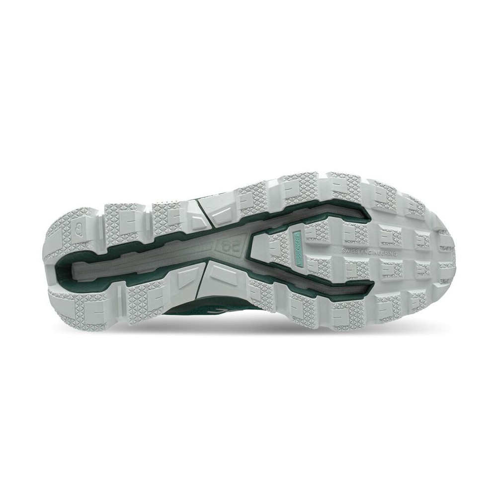 On Running Cloudventure Mens Evergreen/White