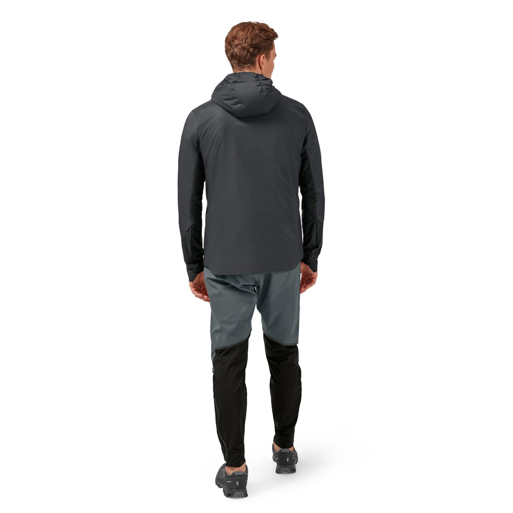 On Running Insulator Jacket Mens Shadow/Black