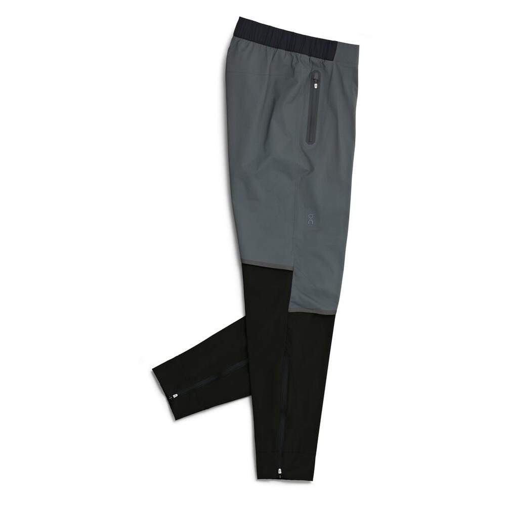 On Running Waterproof Pants Mens Shadow/Black