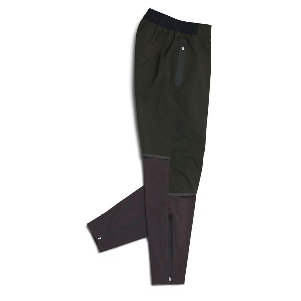 On Running Waterproof Pants Womens Shadow/Pebble