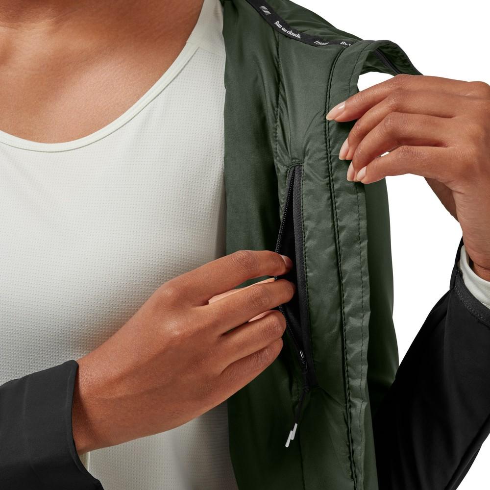 On Running Insulator Jacket Womens Ivy/Black