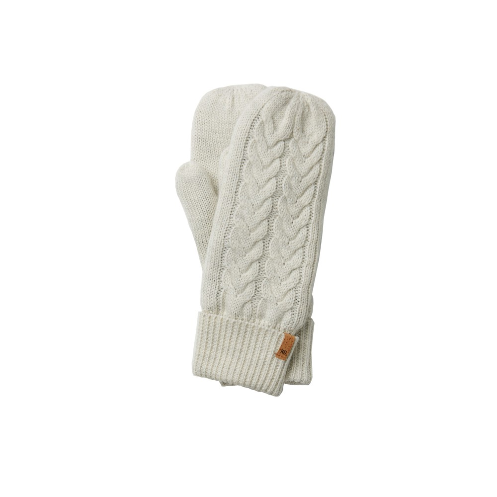 tentree Purcell Mittens Elm White Marled