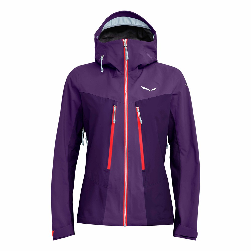Salewa Ortles 3 GTX Pro Jacket Womens Petunia