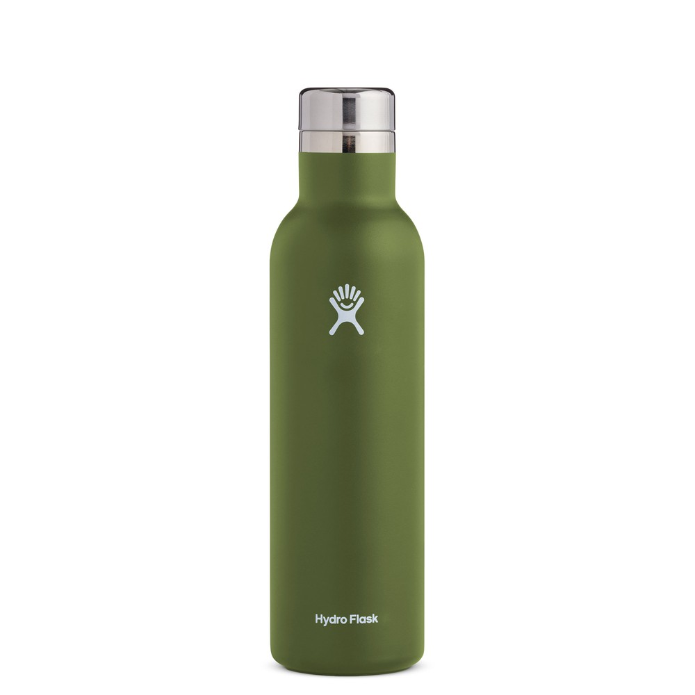 Hydro Flask 25oz Wine Bottle Olive