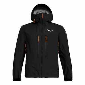 Salewa Ortles 3 GTX Pro Jacket Mens in Black Out