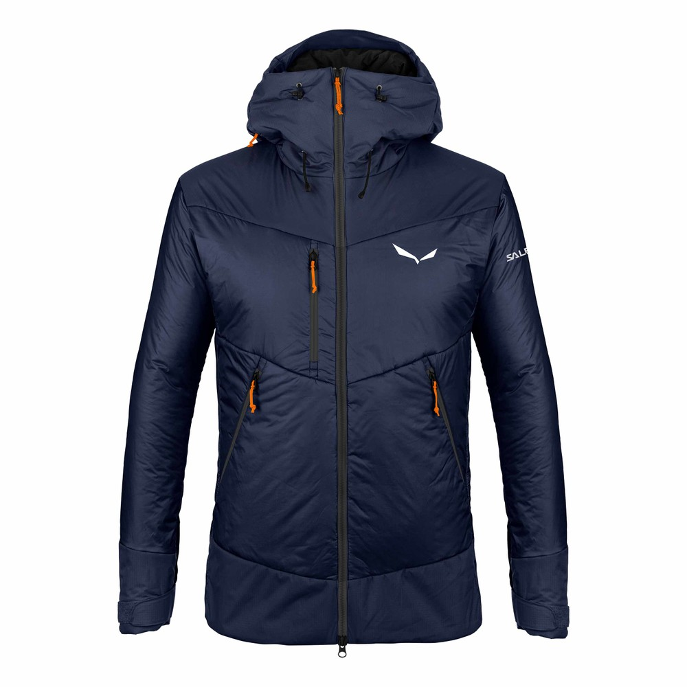 Salewa Ortles TWR Jacket Mens Navy Blazer