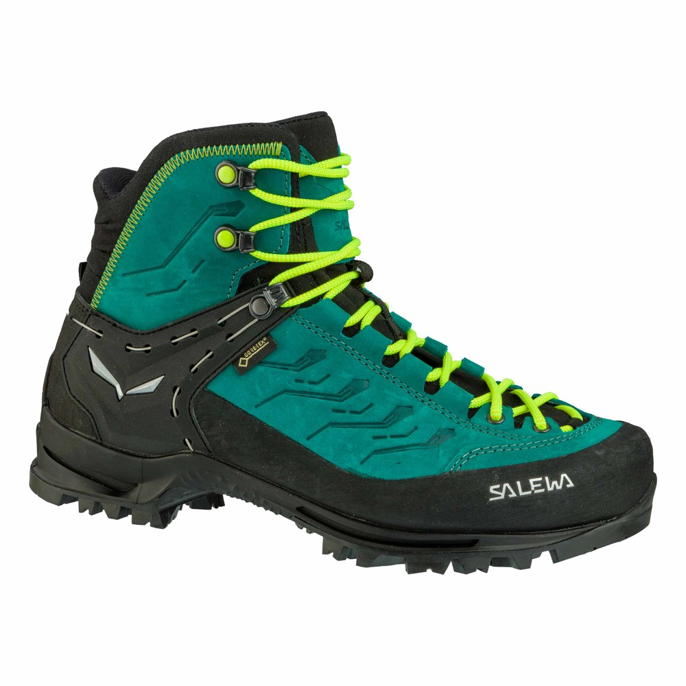 Salewa Rapace GTX Womens Shaded Spruce/Sulphur Spring