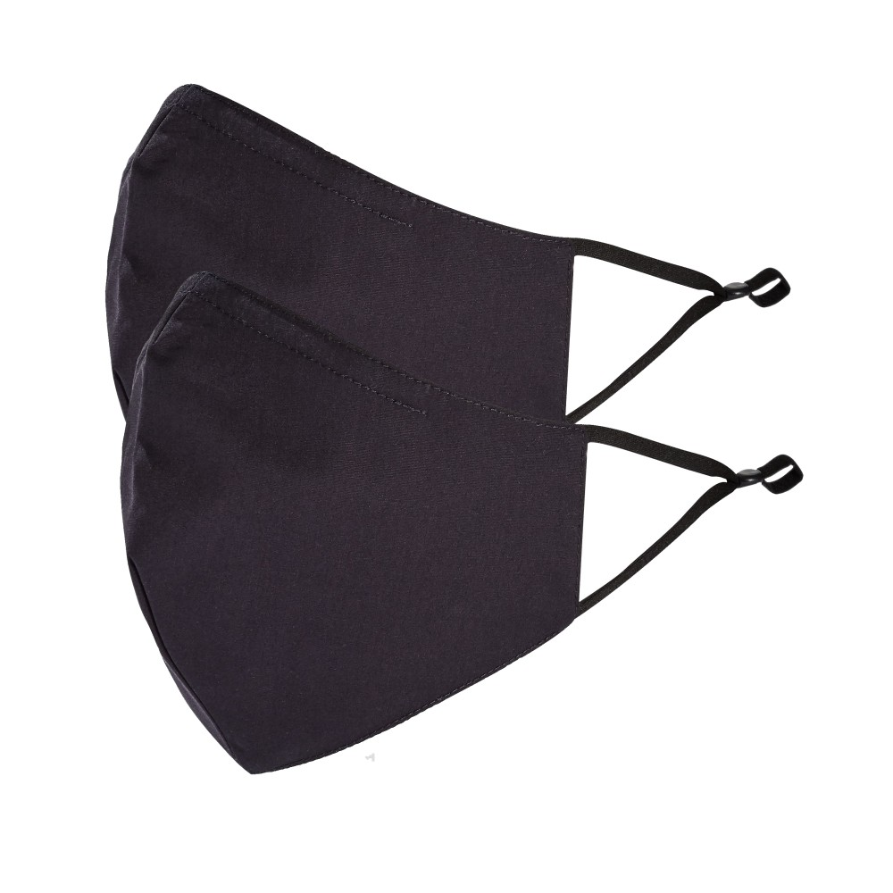 Tilley Endurables Cotton Face Mask Black/Black