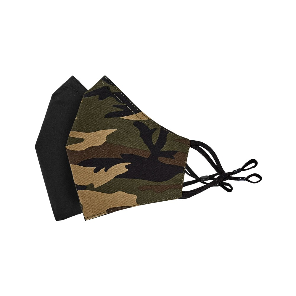 Tilley Endurables Cotton Face Mask Camo Black