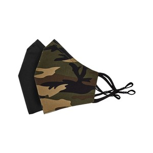 Tilley Endurables Cotton Face Mask in Camo Black
