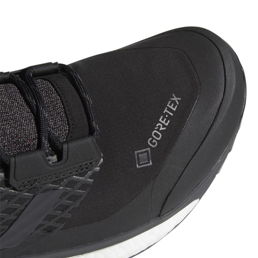 Adidas Terrex Free Hiker GTX Mens Core Black/Grey Three F17/Active Orange