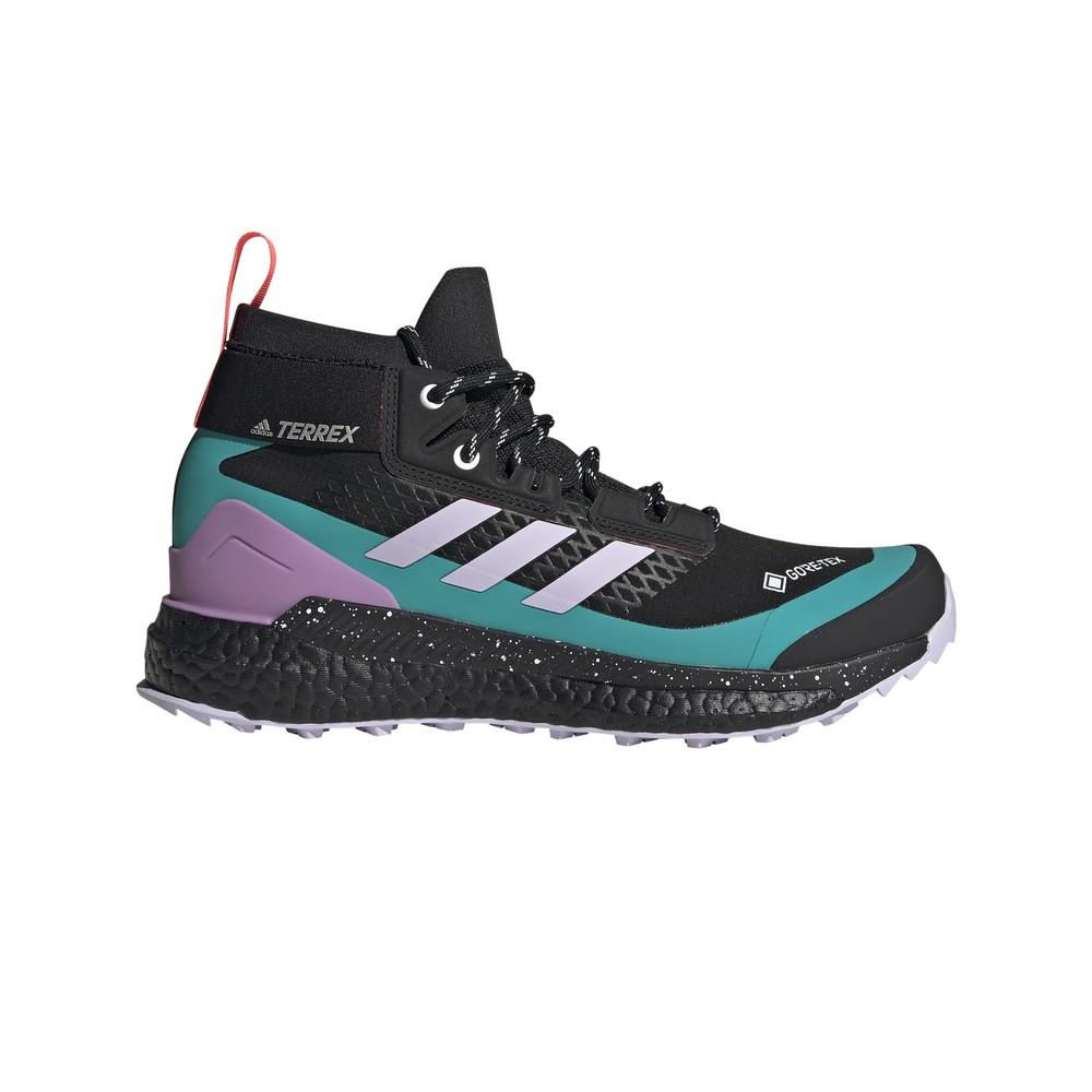 Adidas Terrex Free Hiker GTX Womens Core Black/Purple Tint/Signal Pink