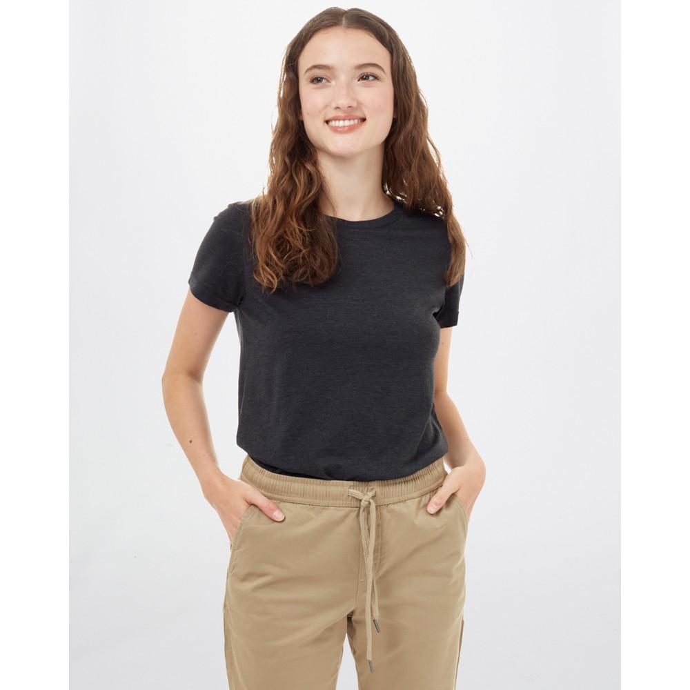 tentree Treeblend Classic T-Shirt Womens Meteorite Black Heather