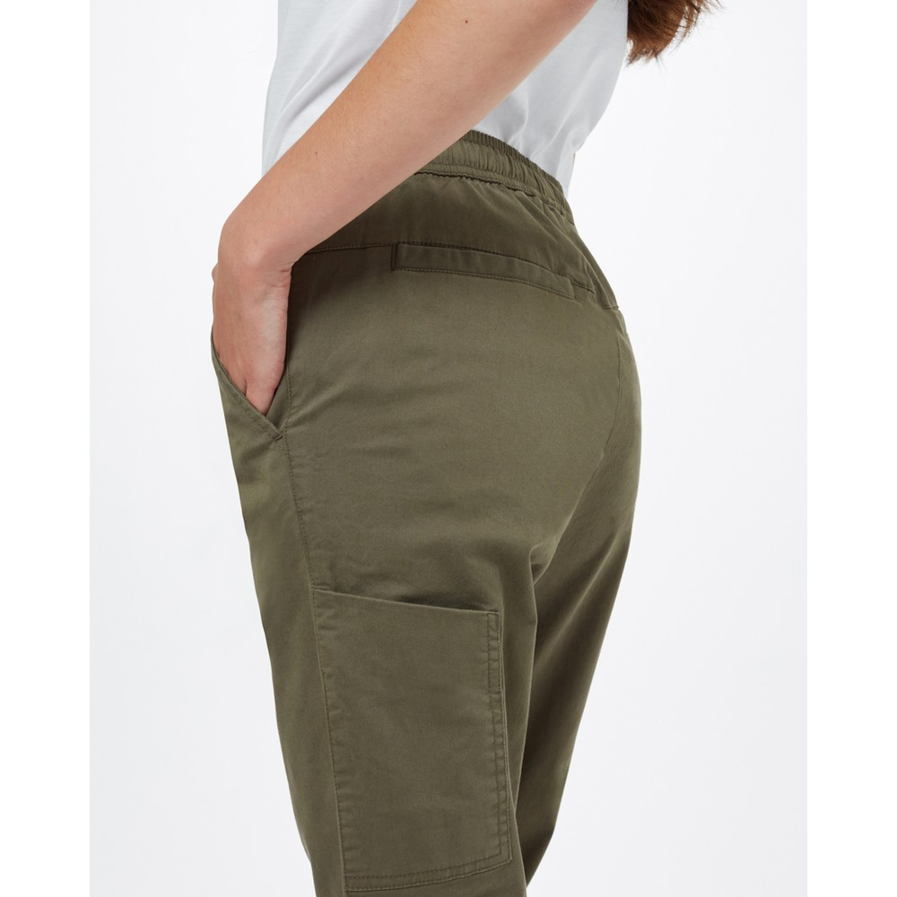 tentree Pacific Pant Womens Olive Night Green
