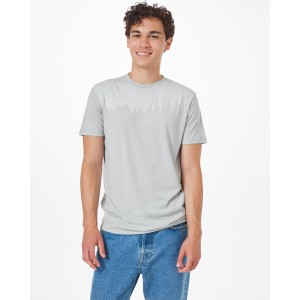 tentree Juniper Classic T-Shirt Mens in Hi Rise Grey Heather