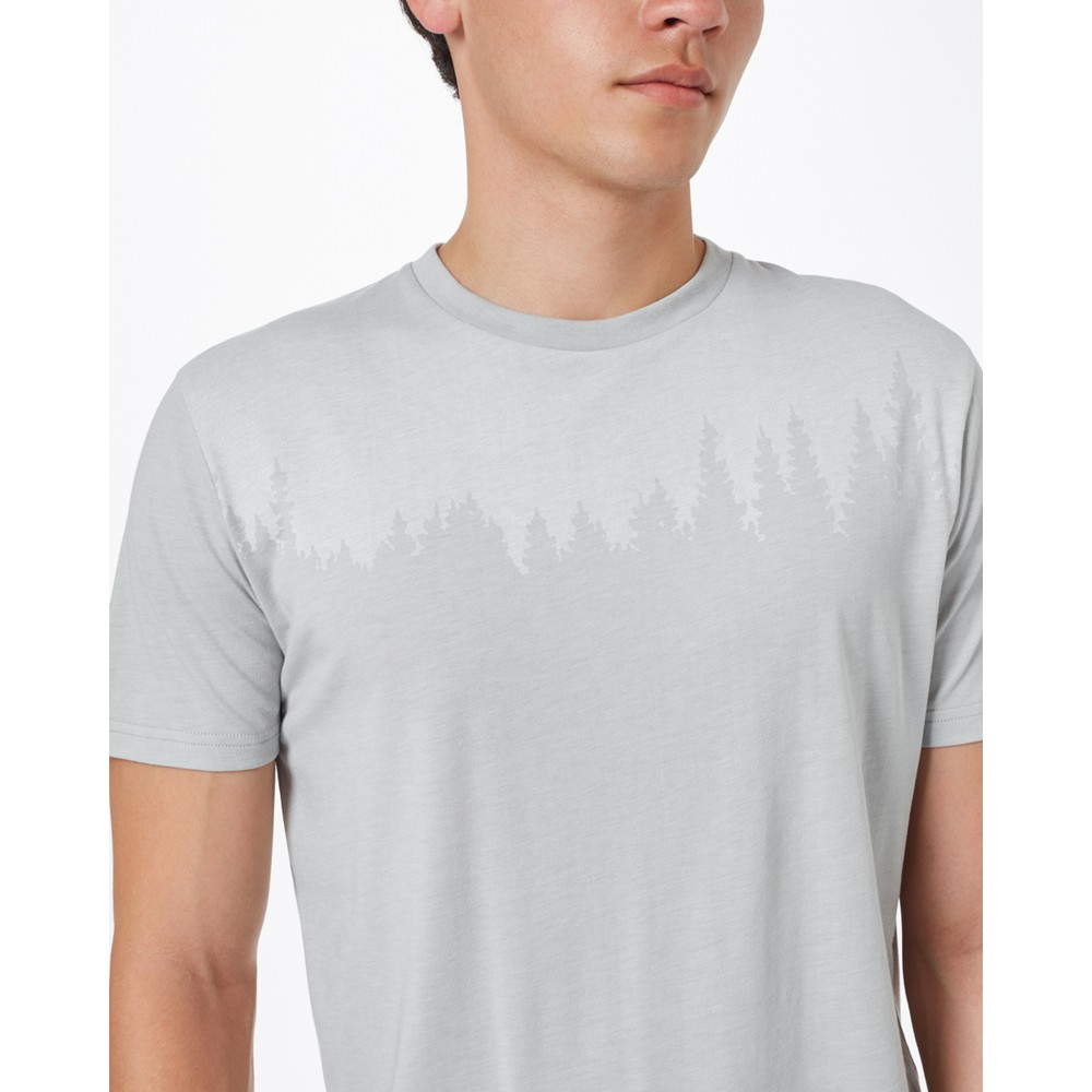 tentree Juniper Classic T-Shirt Mens Hi Rise Grey Heather