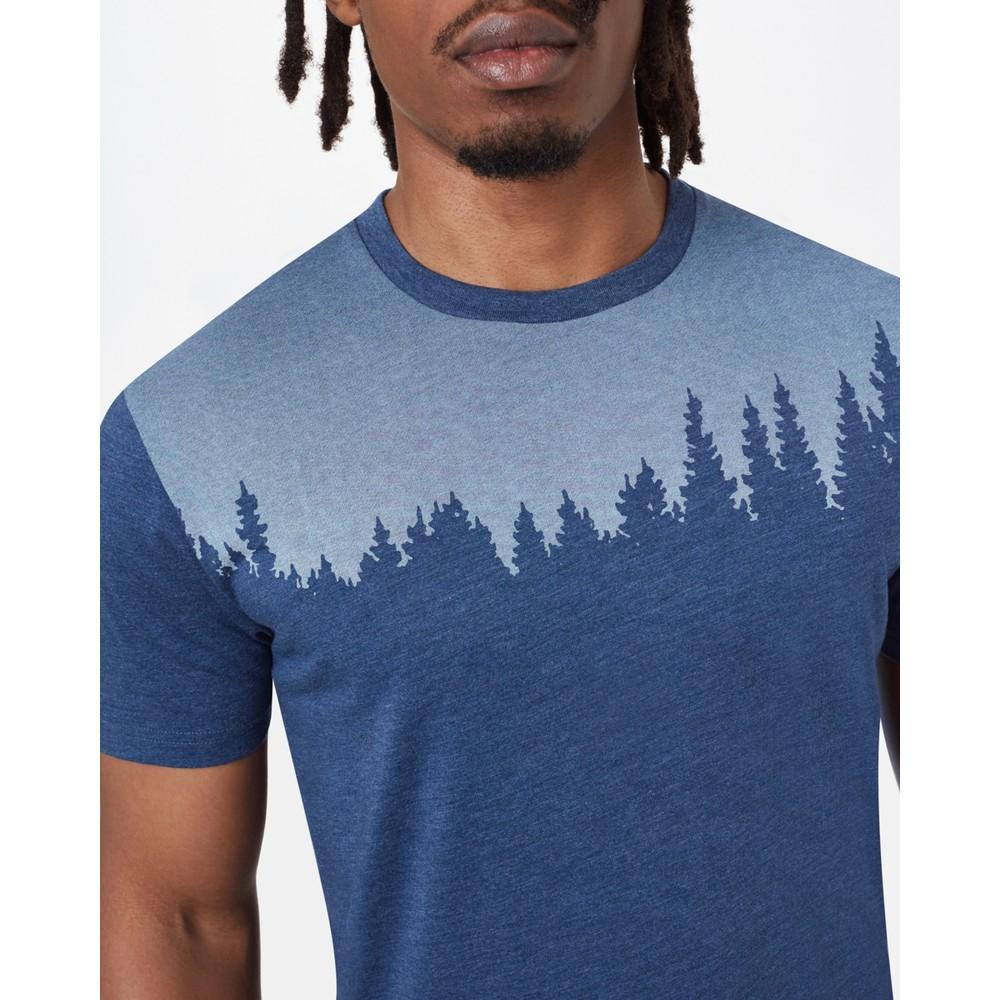 tentree Juniper Classic T-Shirt Mens Dark Ocean Blue Heather