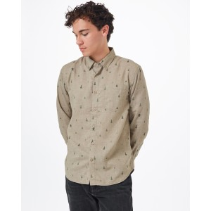 tentree Sasquatch Mancos Longsleeve Shirt Mens