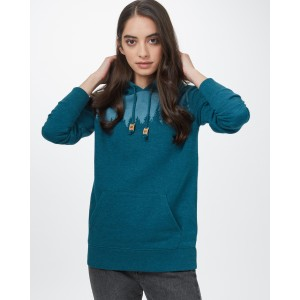 Juniper Hoodie Womens Deep Teal Heather