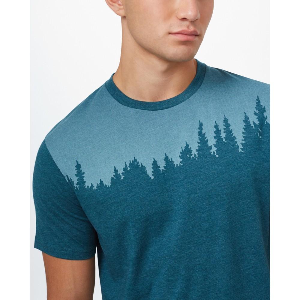tentree Juniper Classic T-Shirt Mens Deep Teal Heather