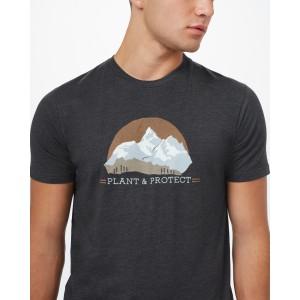 Plant & Protect Classic T-Shirt Mens Meteorite Black Heather
