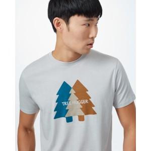 Tree Hugger Classic T-Shirt Mens Hi Rise Grey Heather